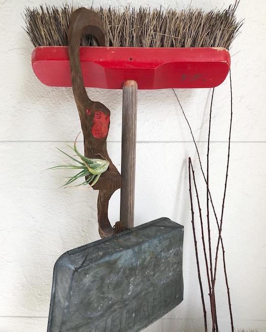猿手、さる手、フック、木彫り猿、古道具、掛け金具