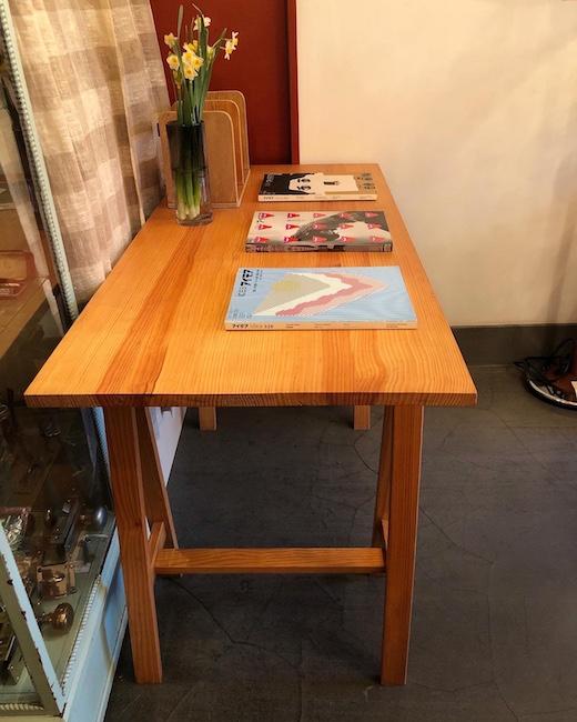 馬脚、ソーホース、ワークテーブル、デスク、簡易テーブル、ヴィンテージ家具