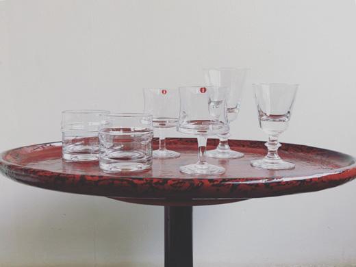 北欧ガラス、ヴィンテージガラス、イッタラ、ホルムガード、北欧モダン、酒器、タピオウィルカラ、ティモサルパネヴァ