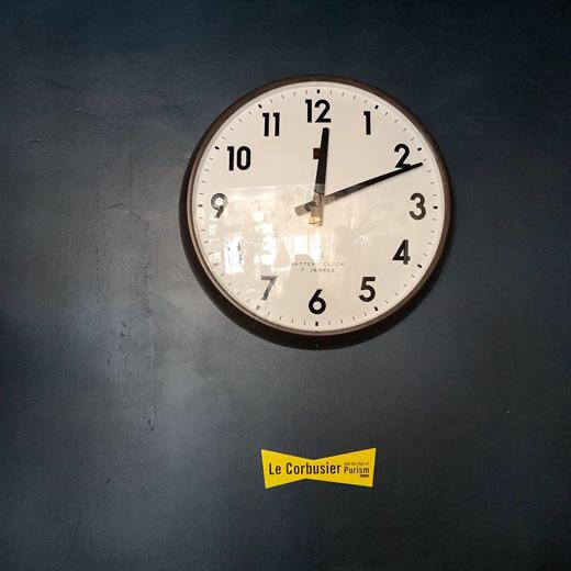 スクールクロック、学校の時計、ナショナル、掛け時計、クォーツ、モダンデザイン、ヴィンテージ
