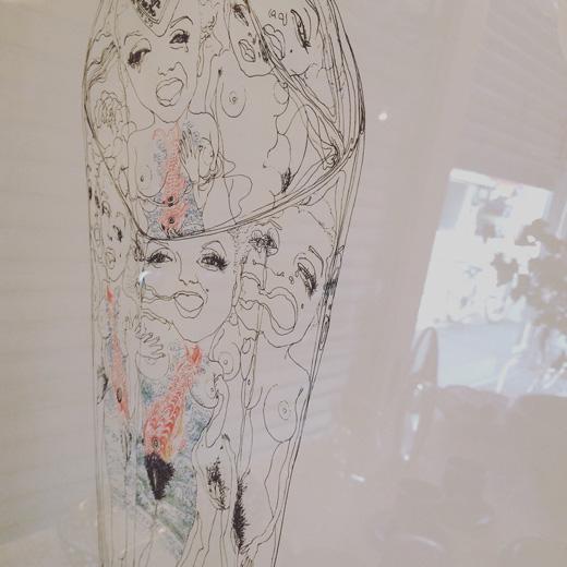 スズキシン一、シルクスクリーン、マリリンモンロー、marilynimage、1977、額裝、モダンアート