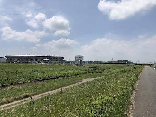 鶴見川、新横浜