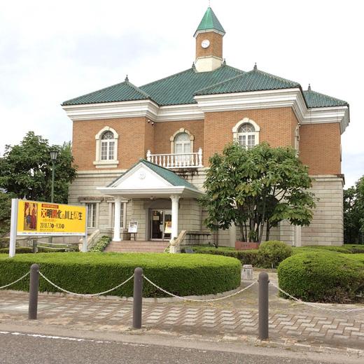 川上澄生、版画作品、よこはまわがふるさと、女と洋燈、川上澄生美術館
