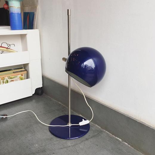 北欧ヴィンテージ、ヴィンテージ照明、テーブルランプ、hemiklot1、モダンデザイン