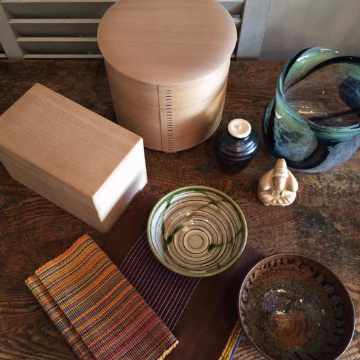 クラフト、茶道具、曲げわっぱ、柴田慶信商店、茶通箱、古道具、茶の湯
