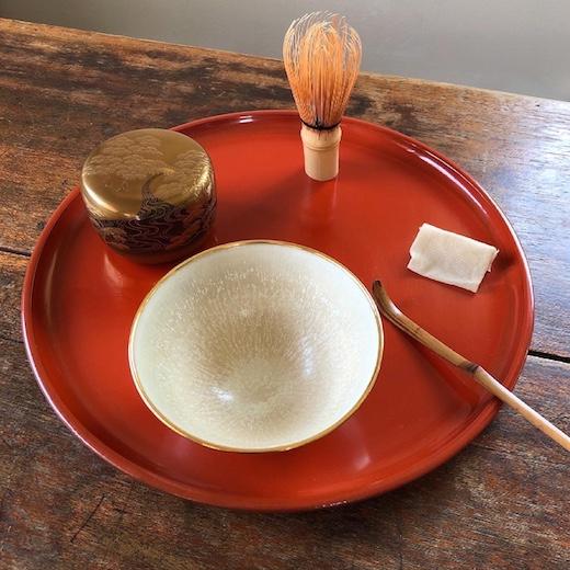 北欧陶器、サクスボー、saxbo、茶碗、箱書、武者小路千家、有隣斎、茶道具、ヴィンテージコレクション