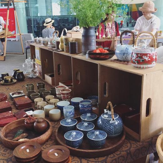 お茶イベント、teaforpeace、青山ファーマーズマーケット