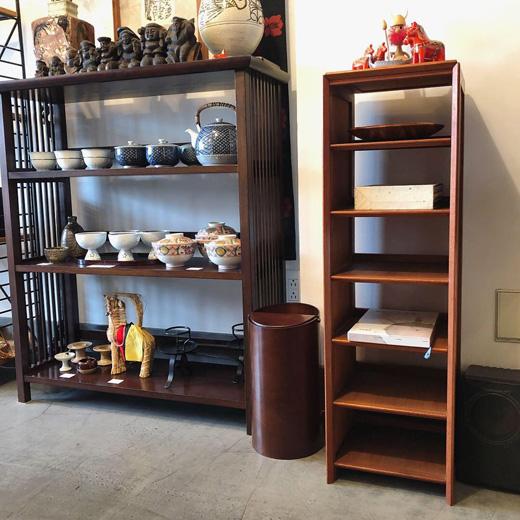 北欧モダン、チーク家具、スリッパラック、隙間収納、シェルフ、ヴィンテージ、棚