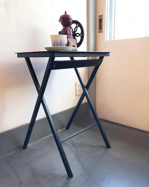 ヴィンテージ家具、アメリカ製、フォールディングテーブル、モダンデザイン