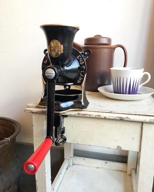 スポング、コーヒーミル、ヴィンテージ、イギリス製、モダン