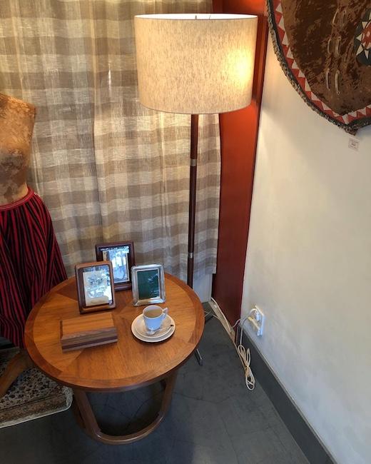 ヴィンテージ家具、LANE、レーン、アメリカヴィンテージ、モダン、コーヒーテーブル、フロアランプ