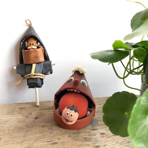 郷土玩具、妖怪玩具、一刀彫、こけし、やまびこ、みちかた工房、道方令