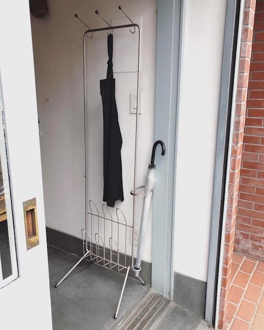 ヴィンテージ家具、ホールスタンド、玄関インテリア、傘立て、コートハンガー、スリッパラック、モダン