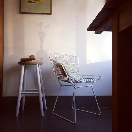 ヴィンテージ家具、ハイスツール、サイドチェア、ハリーベルトイア、モダンデザイン