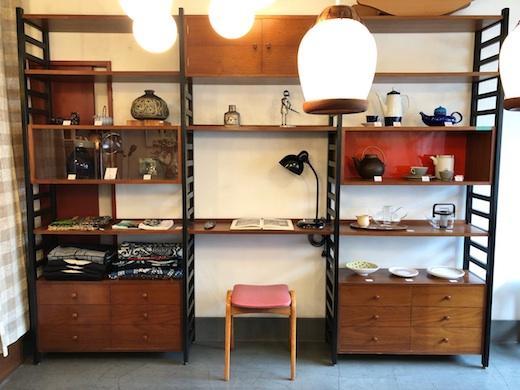 ユニットシェルフ、ジャパニーズモダン、ラダーシェルフ、モダン家具、日本製