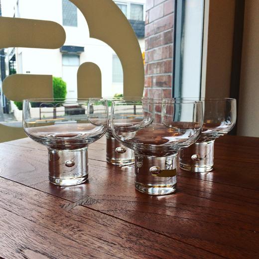北欧ヴィンテージ、ガラス器、グラス、コスタ、ヴィッケリンドストランド、mamboglass、vickelindstrand、1955
