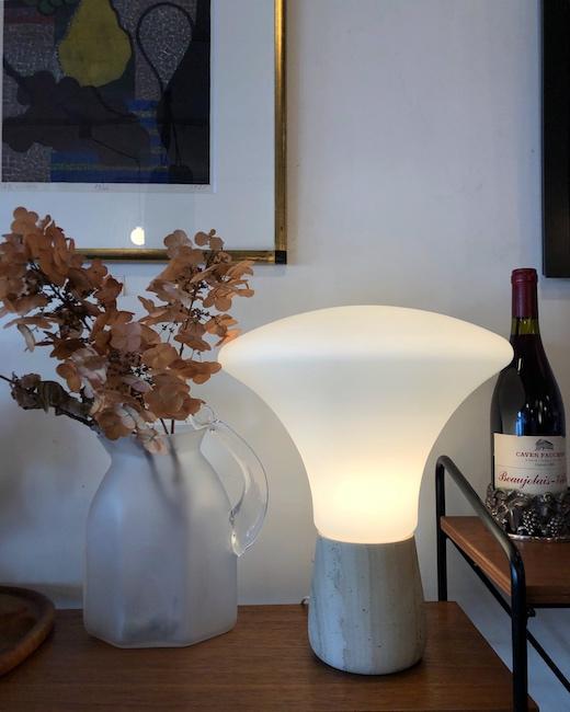 ヴィンテージ照明、テーブルランプ、アート、エレガント、モダン