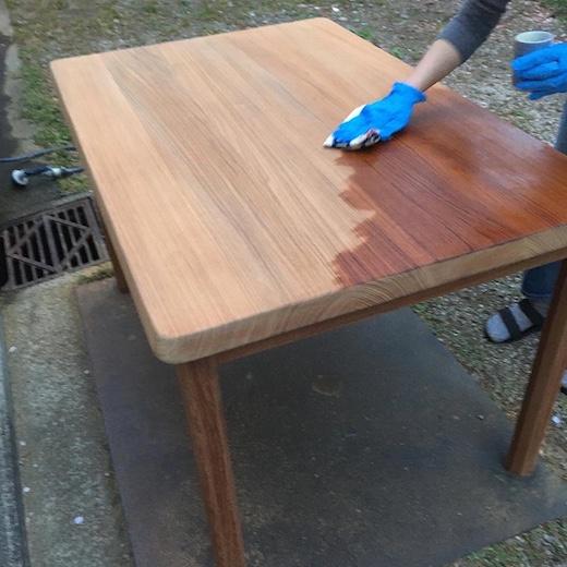 チークダイニングテーブル、チーク家具、チーク無垢材、北欧、モダン、ヴィンテージ家具