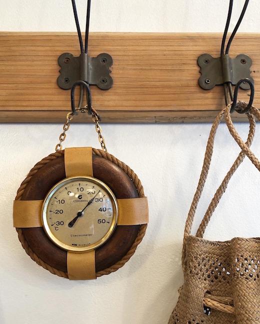 シチズン、温度計、浮き輪、マリン、ヴィンテージ雑貨