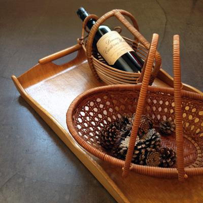ヴィンテージバスケット、ワインバスケット