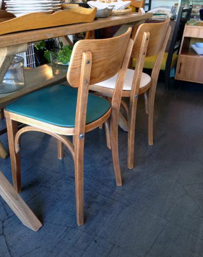 リメイクチェア、木の椅子