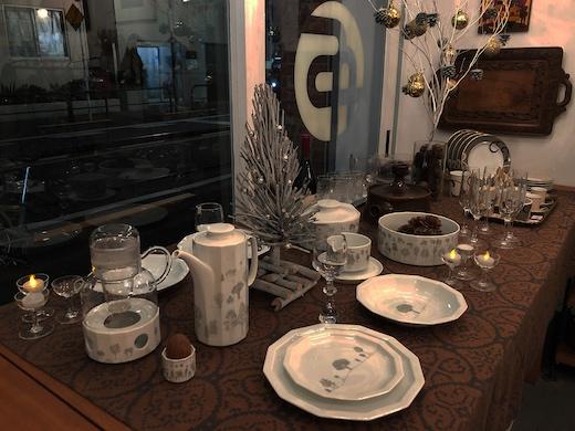ローゼンタール、タピオヴィルカラ、ルートブリュック、winterreise、白い食器、クリスマス