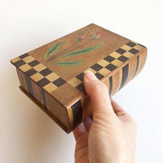 寄木細工、入れ子箱、カラクリ箱、小箱、木箱、ジュエリーボックス、宝石箱、工芸、ヴィンテージ