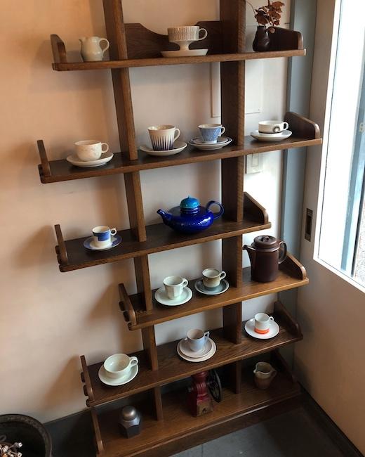 ヴィンテージ食器、北欧食器、コーヒーカップ&ソーサー、コーヒーポット、アラビア、ルスカ