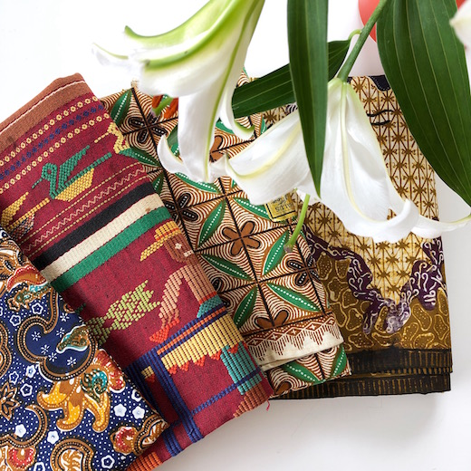 ヴィンテージファブリック、バティック、フォークアート、世界の民芸、織物