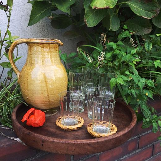 ガラス器、和食器、和モダン、ガラスコップ、小鹿田焼、ピッチャー
