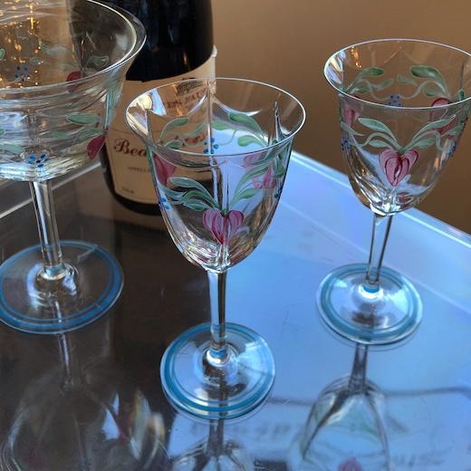北欧ガラス、オレフォス、ヴィンテージグラス、maja、orrefors