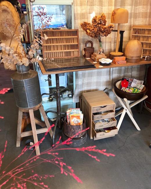 ヴィンテージインテリア、古道具、紙もの、アンティーク、ナンセンス下北沢