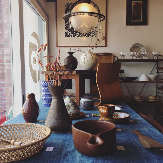ナンセンス下北沢、最新店内、陶器、器、プリミティブモダン、ヴィンテージ、クラフト