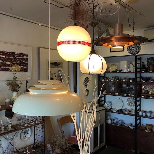 ヴィンテージ照明、北欧、ペンダントライト、ヤマギワ、ソーラー、モダン照明、solar