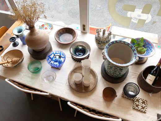 世界の民芸、フォークアート、ガラス器、陶器、土器、ヴィンテージインテリア、ナンセンス下北沢