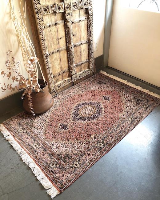 ヴィンテージラグ、絨毯、カーペット、クラシカルモダン
