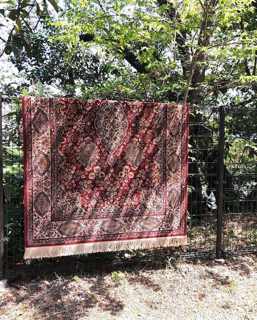 西ドイツ、ヴィンテージラグ、絨毯
