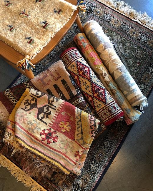 ヴィンテージラグ、ペルシャ絨緞、キリム、ギャッベ、プリミティブアート