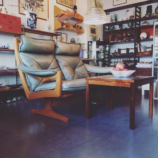 ノルウェー、リードモブラー社のソファ