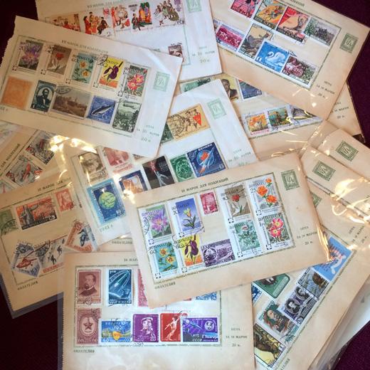 海外切手、外国切手、ヴィンテージ切手、グラフィックデザイン、東京蚤の市