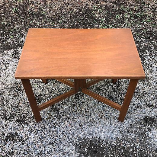 古道具、ヴィンテージ家具、造作家具、折りたたみテーブル、作業台、フォールディングテーブル