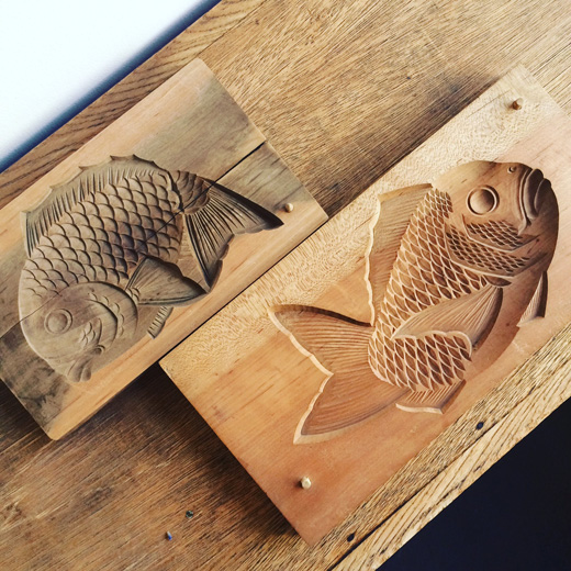 菓子型、木型、和菓子、伝統工芸、職人の技