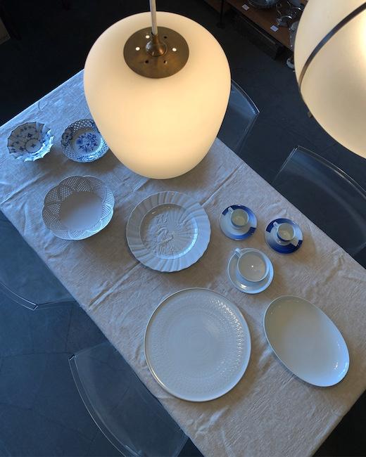 ヴィンテージ食器、洋食器、ブランド、白磁、マイセン、ローゼンタール、ロイヤルコペンハーゲン、フッチェンロイター 、香蘭社、大皿