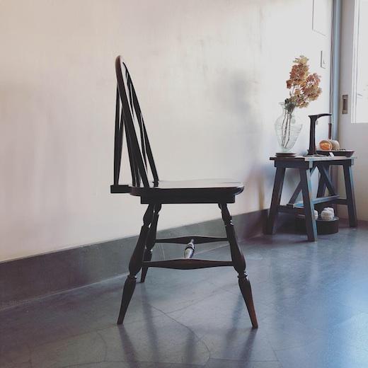 ウィンザーチェア、ヴィンテージ家具、クラシックモダン