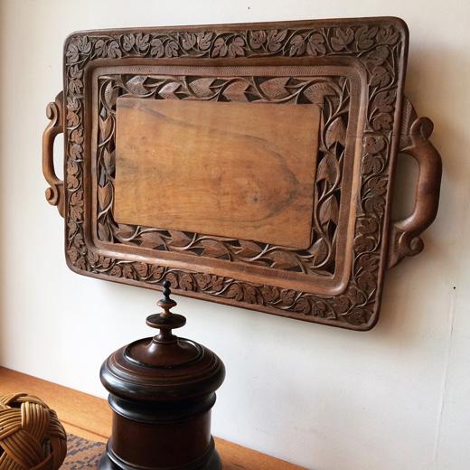 木彫、ウッドカービング、壁掛け、ウォールデコレーション、北欧、アンティーク、ハンドクラフト