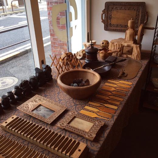 木工芸、ハンドクラフト、ヴィンテージコレクション、北欧、東欧、民芸