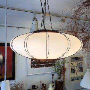 ヴィンテージ照明、モダン照明、ヤマギワ、乳白ガラス、ジャパニーズモダン、和モダン、行灯