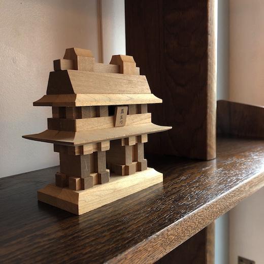 山中組木、組み木、木製パズル、羅生門、芥川龍之介、伝統工芸、組木