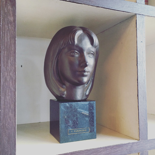 彫刻家船越保武のブロンズ像「K嬢」yasutakefunakoshi.bronzestatue