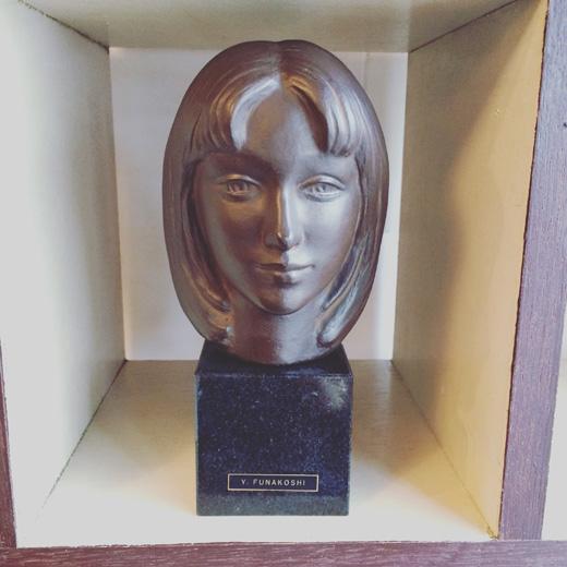 彫刻家船越保武のブロンズ像「K嬢」yasutakefunakoshi.sculpture
